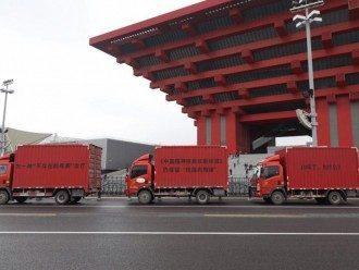 Konvoi Truk yang Memprotes Terapi Konversi Berkeliling Kota Shanghai