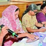 Kelompok Perempuan Maju untuk Mendukung para Korban Kekerasan di Delhi
